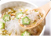 寒天スープ