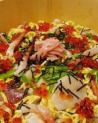 寒天入り海鮮チラシ寿司
